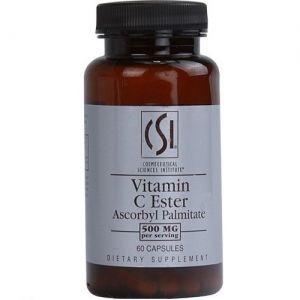 Sáng da, liền sẹo CSI Vitamin C Ester Ascorbyl Palmitate 60 viên nang