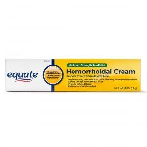 equate cream lô hội giảm sưng viêm ngứa rát búi trĩ