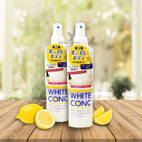 DƯỠNG THỂ TRẮNG DA WHITE CONC BODY LOTION-245mL
