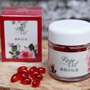 Mùi hương hoa hồng cho cơ thể phụ nữ Nhật- Rose oil