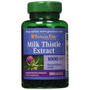 Bổ gan giải độc gan Milk Thistle Extract 1000 mg 180 viên
