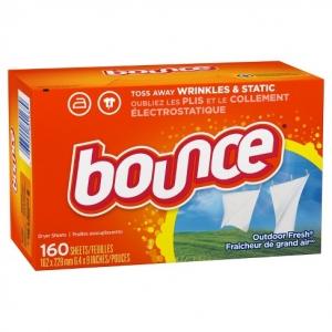 Giấy Thơm Quần Áo Bounce 4 In 1 Của Mỹ (160 Tờ)
