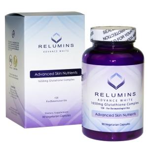 Viên uống hỗ trợ trắng da Relumins 1650 Mg 90 viên