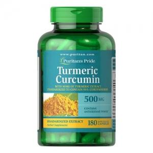 tinh chất nghệ trị đau bao tử Turmeric Curcumin 500MG 180